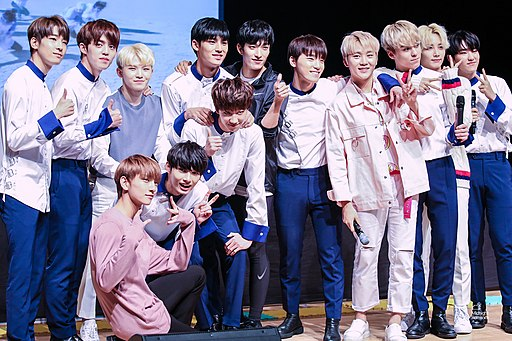 South Korean Boy Band Seventeen (세븐틴)